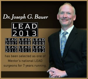 Dr Joseph Bauer LEAD 2013 7 years