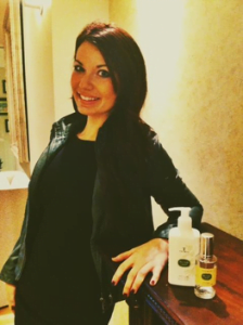Rachel Wischow, Coolspa Director and her favorite perfume